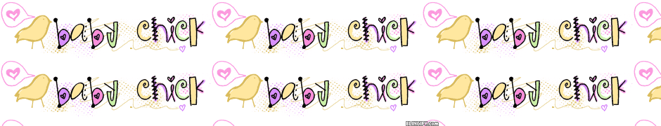 Baby Chick google plus cover