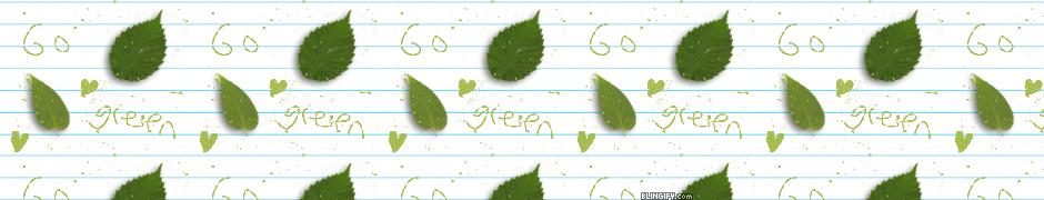 Go Green google plus cover