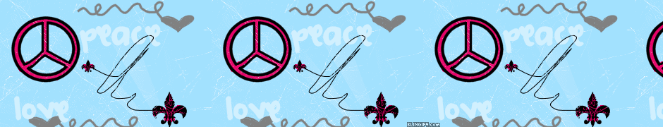 Peace And Love google plus cover