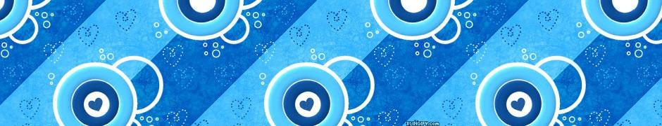 Blue Crop Circles google plus cover