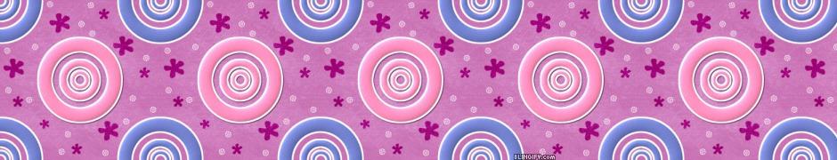 Pinkbluecircles google plus cover