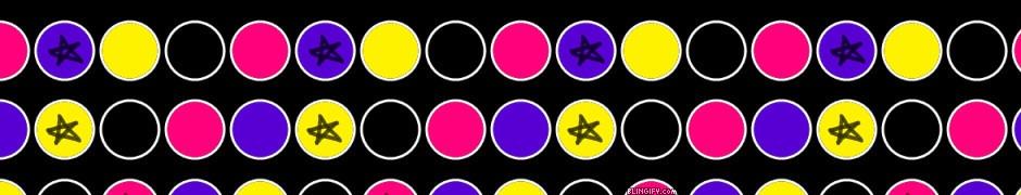 Punk Dots google plus cover