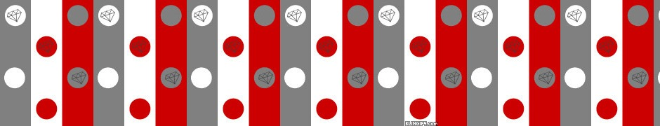 Red Grey Dots google plus cover