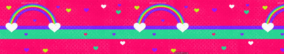 Rainbow  google plus cover