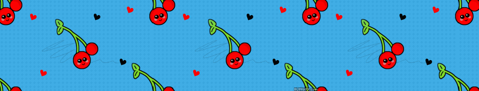 Cute Cherry google plus cover