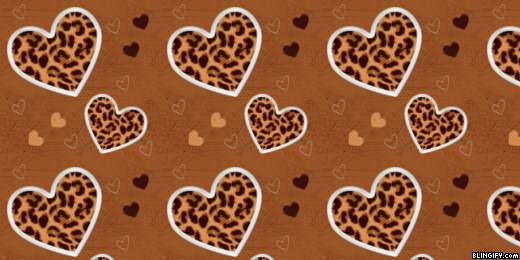 Leopard hearts google plus cover