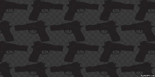 Black And White Guns google plus cover