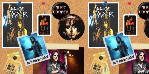 Alice Cooper google plus cover