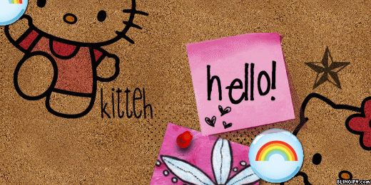 Hello Kitty Board google plus cover