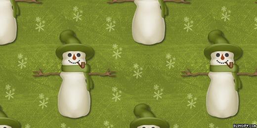 Snowmanolivegreen google plus cover