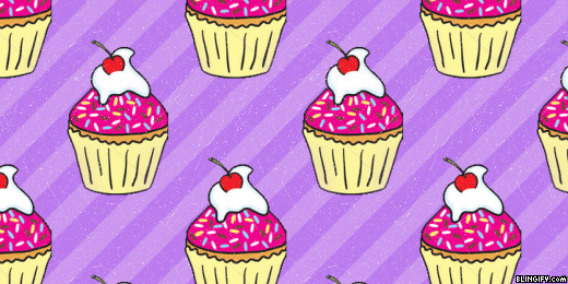 Purple Cupcake google plus cover