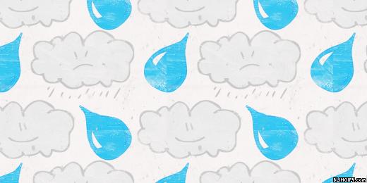 Angry Raining google plus cover