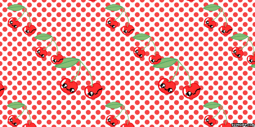 Cute Cherry google plus cover