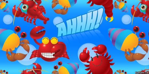 Cute Crab google plus cover