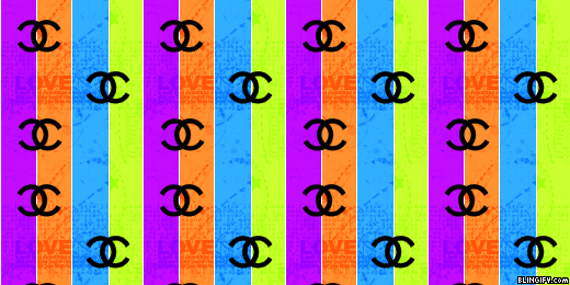 Chanel Stripes google plus cover