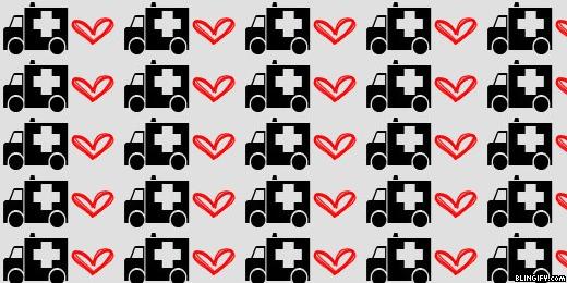 Ambulance Heart google plus cover