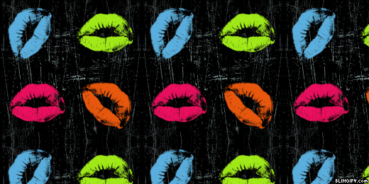 Neon Lips google plus cover