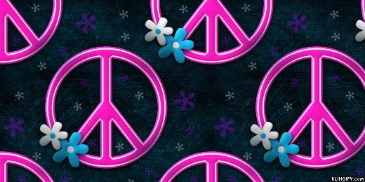 Peace Pink google plus cover