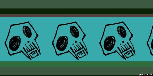 Fanged Skull google plus cover