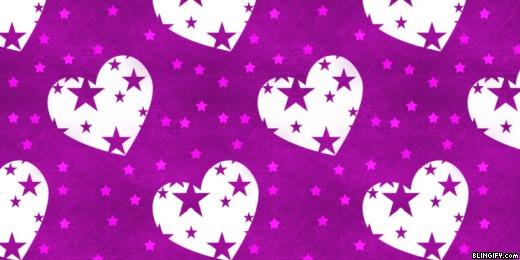 Heart Stars google plus cover