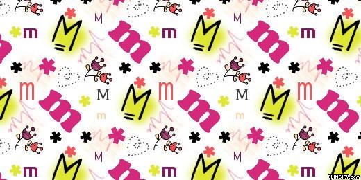 Cute M google plus cover