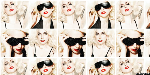 Lady Gaga google plus cover