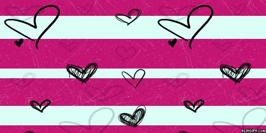 Love Hearts google plus cover