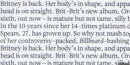 Britney Newspaper google plus cover