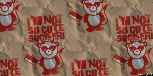 Not Cute Sucker  google plus cover