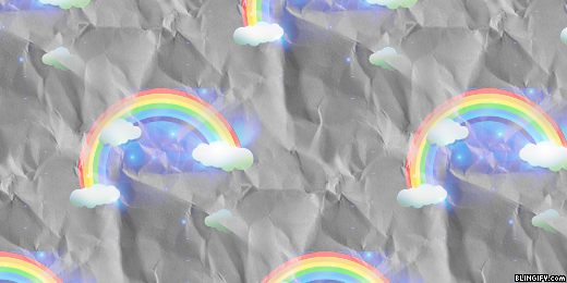 Rainbow  google plus cover
