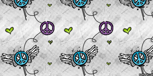 Peace Winged google plus cover