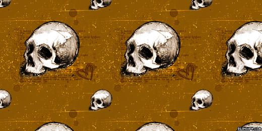 Skulls google plus cover
