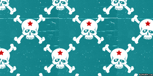 Skulls google plus cover