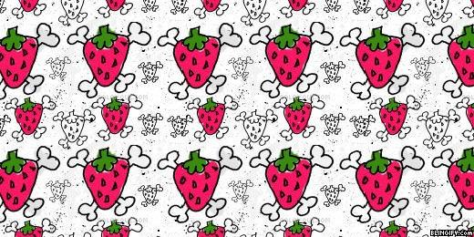 Bone Strawberry google plus cover