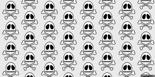 Skull  google plus cover