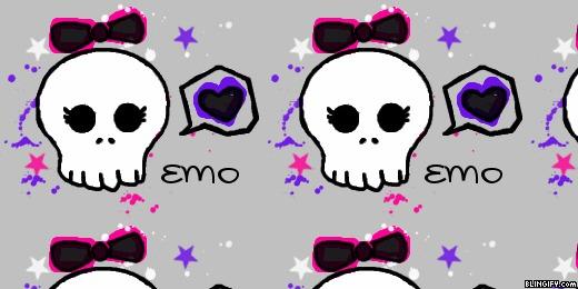 Emo Girl google plus cover