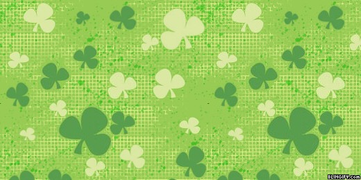 Scattered Shamrocks google plus cover