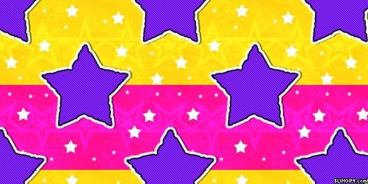 Puple Stars google plus cover