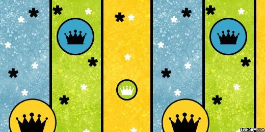 Crown Stripes google plus cover