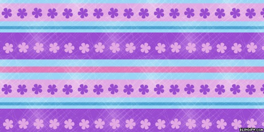 Flower Stripes google plus cover
