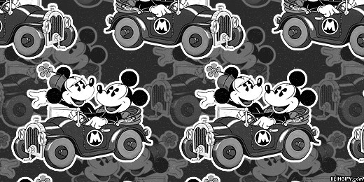 Mickey And Minnie Mouse google plus cover