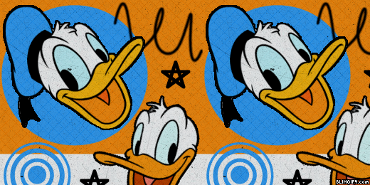 Donald Duck google plus cover