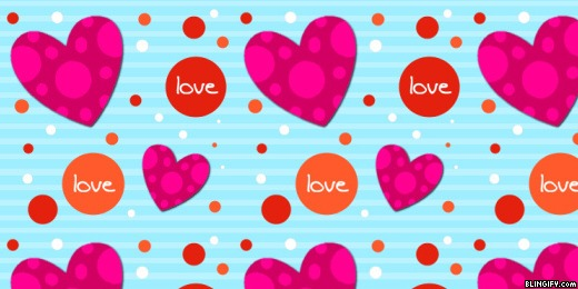 Heart Dots google plus cover