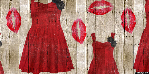Wood Red Dress google plus cover