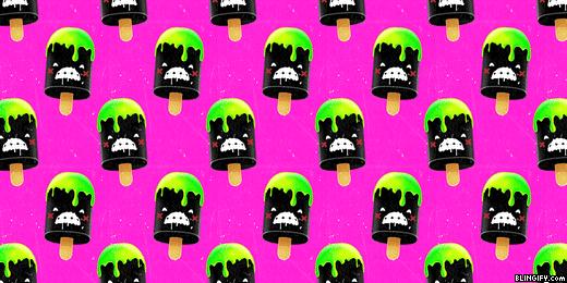 Cute Ice Cream google plus cover